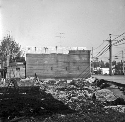 Bank of Montreal Building Site