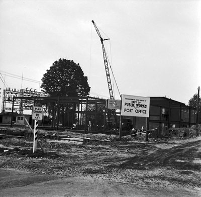 New Post Office Construction