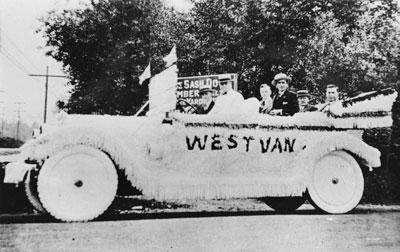 West Vancouver Parade Float