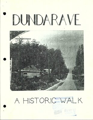 Dundarave: a historic walk