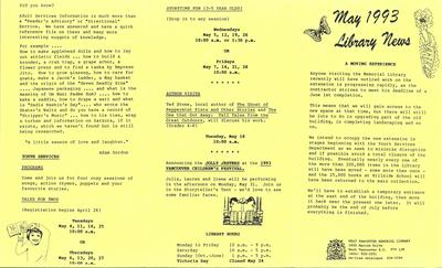 Library News, 1 May 1993