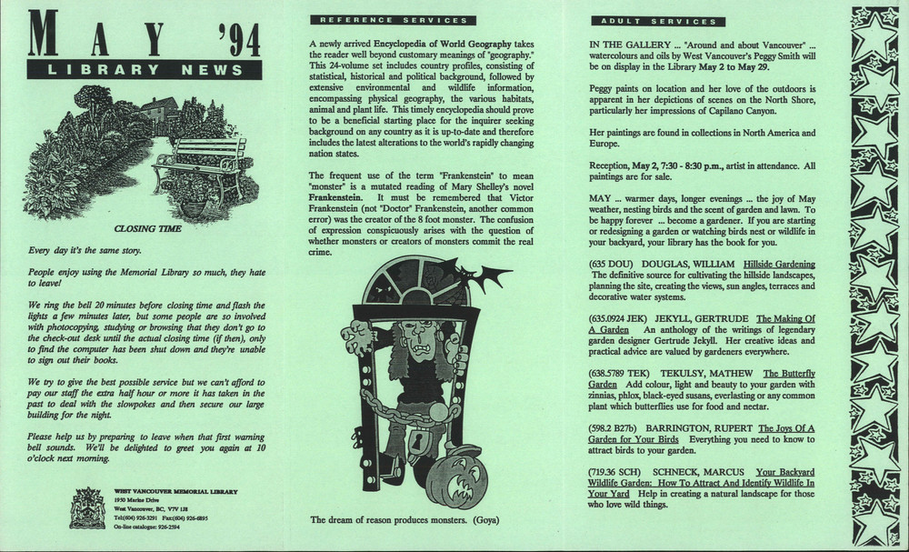 Library News, 1 May 1994