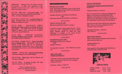 Library News, 1 Feb 1996