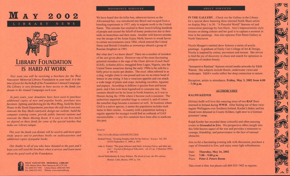 Library News, 1 May 2002