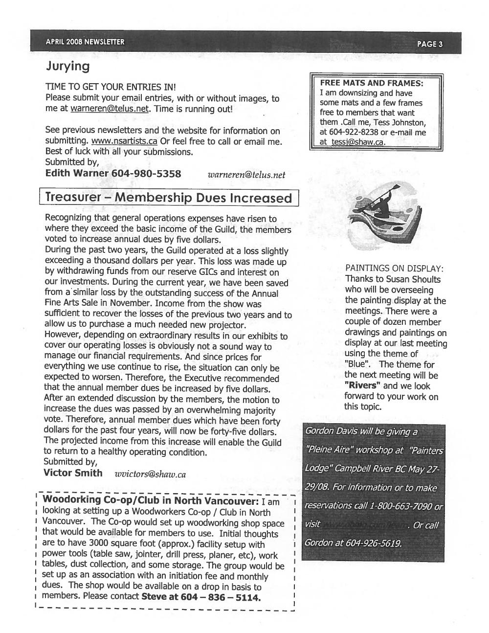 West Vancouver Sketch Club (North Shore Artists' Guild) (20090101), April 2008