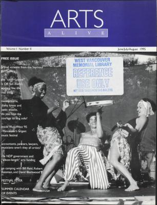Arts Alive, June/July/August 1995