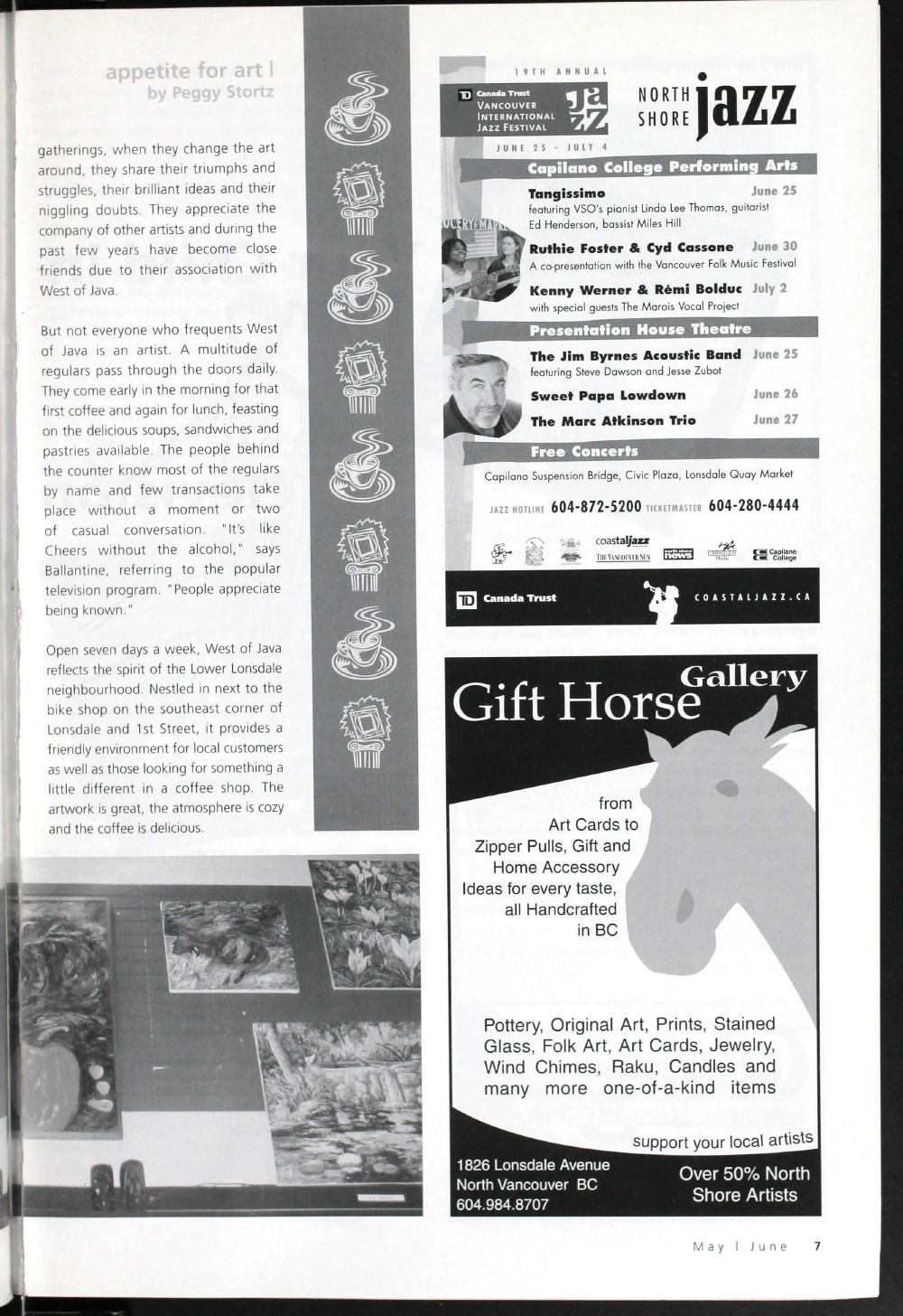 Arts Alive, May/June 2004