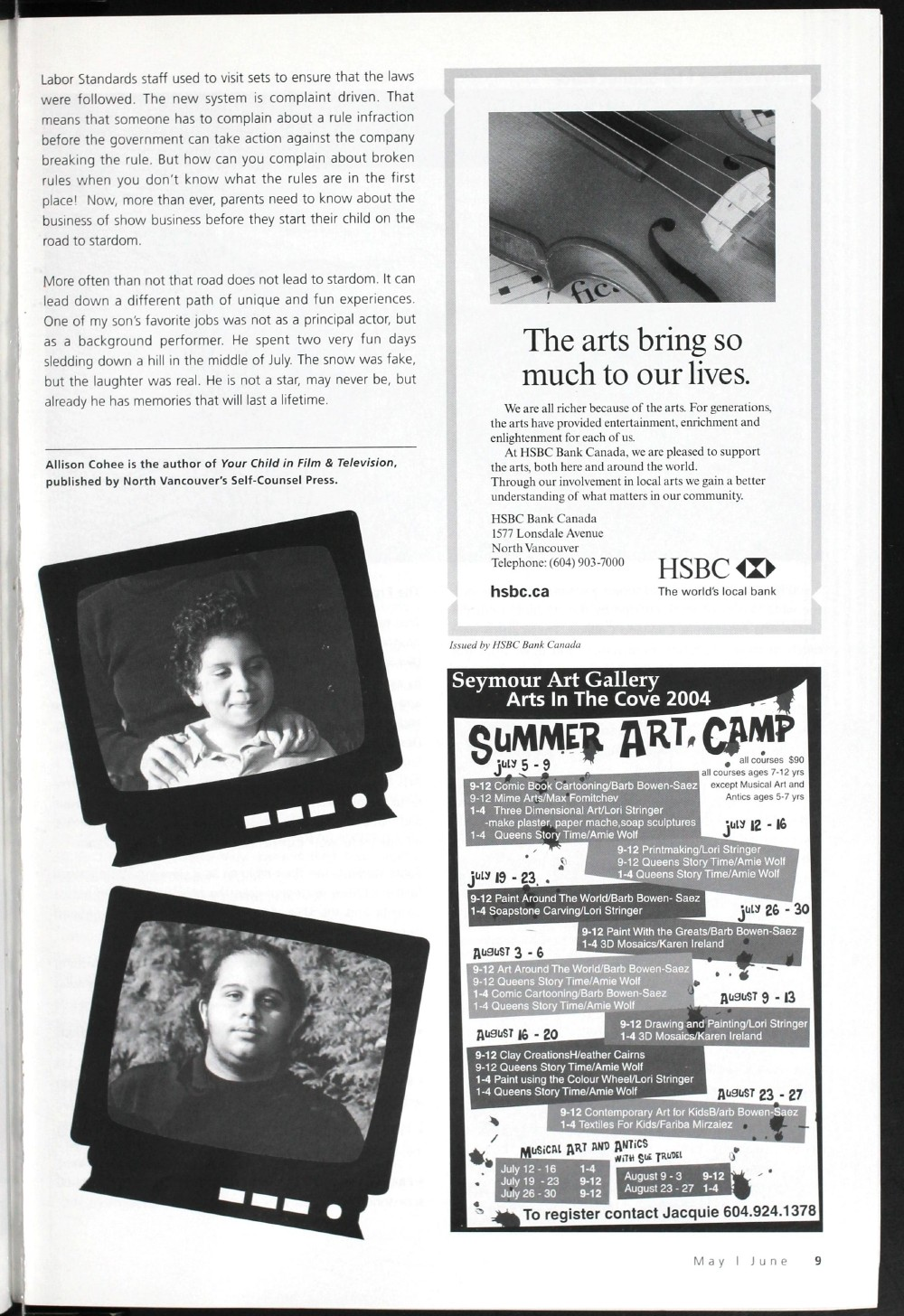 Arts Alive, May/June 2004