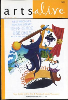 Arts Alive, July/August 2005