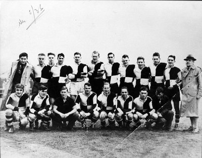 West Vancouver Rugby Team - Barbarians, 2nd division, 1935