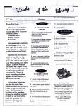 Friends of the Library Newsletter, June 1998