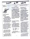 Friends of the Library Newsletter, December 1998