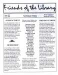 Friends of the Library Newsletter, July 1999