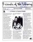 Friends of the Library Newsletter, November 1999