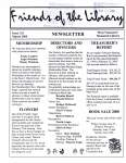 Friends of the Library Newsletter, March 2000