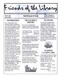 Friends of the Library Newsletter, May 2000