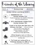 Friends of the Library Newsletter, November 2000
