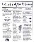 Friends of the Library Newsletter, December 2000