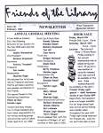 Friends of the Library Newsletter, February 2001