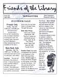 Friends of the Library Newsletter, June 2001