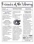 Friends of the Library Newsletter, December 2001