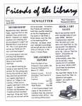 Friends of the Library Newsletter, April 2002