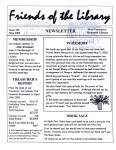 Friends of the Library Newsletter, May 2002
