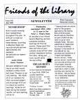 Friends of the Library Newsletter, July 2002