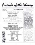 Friends of the Library Newsletter, October 2002