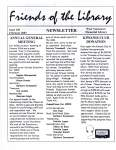 Friends of the Library Newsletter, February 2003