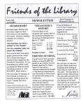 Friends of the Library Newsletter, April 2003