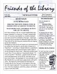 Friends of the Library Newsletter, June 2003