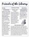 Friends of the Library Newsletter, April 2004
