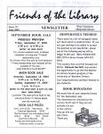 Friends of the Library Newsletter, June 2004