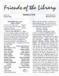 Friends of the Library Newsletter, October 2004