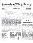 Friends of the Library Newsletter, November 2004