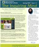 Inquiring Mind, Spring 2007