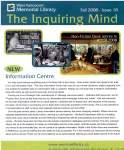 Inquiring Mind, Fall 2008
