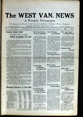 West Van. News (West Vancouver), 16 Jul 1926