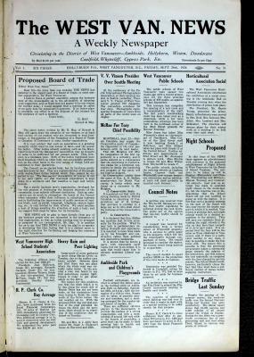 West Van. News (West Vancouver), 24 Sep 1926