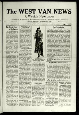 West Van. News (West Vancouver), 24 Jun 1927