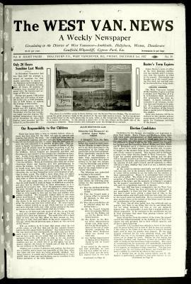 West Van. News (West Vancouver), 2 Dec 1927