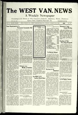 West Van. News (West Vancouver), 2 Mar 1928