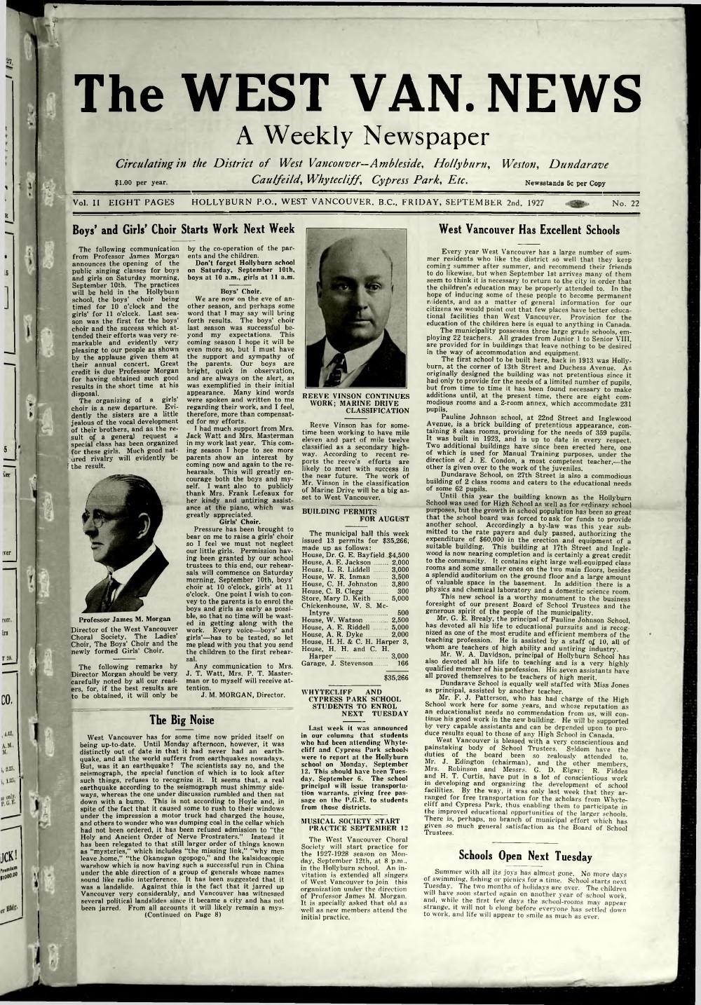 West Van. News (West Vancouver), 2 Sep 1927
