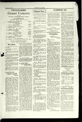 West Van. News (West Vancouver), 4 Nov 1927