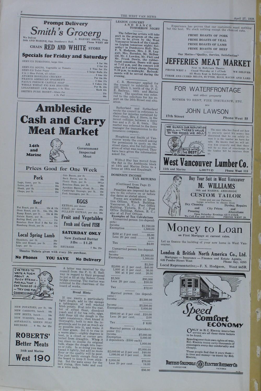 West Van. News (West Vancouver), 27 Apr 1928