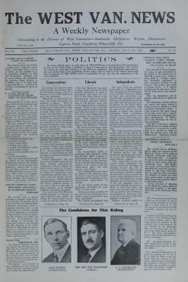 West Van. News (West Vancouver), 13 Jul 1928