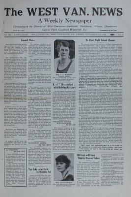 West Van. News (West Vancouver), 21 Sep 1928