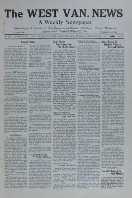 West Van. News (West Vancouver), 28 Sep 1928
