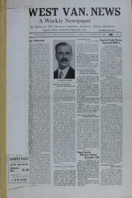 West Van. News (West Vancouver), 2 Nov 1928